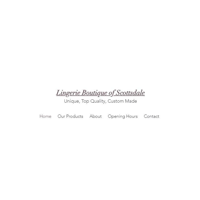Lingerie Boutique of Scottsdale - Scottsdale, AZ 85251 - (602)330-4745 | ShowMeLocal.com