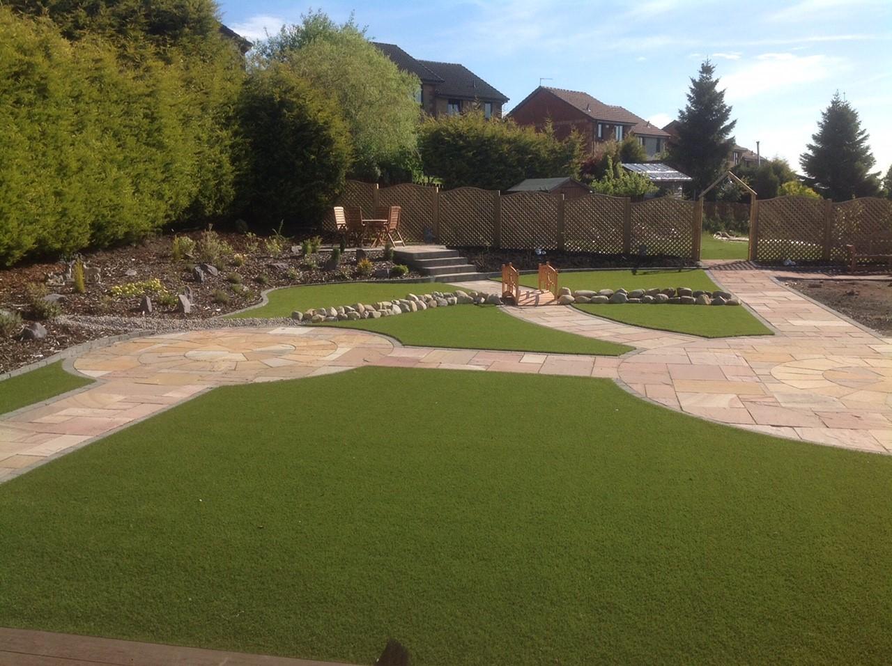 Anderson landscaping glasgow landscape gardening for Garden design glasgow