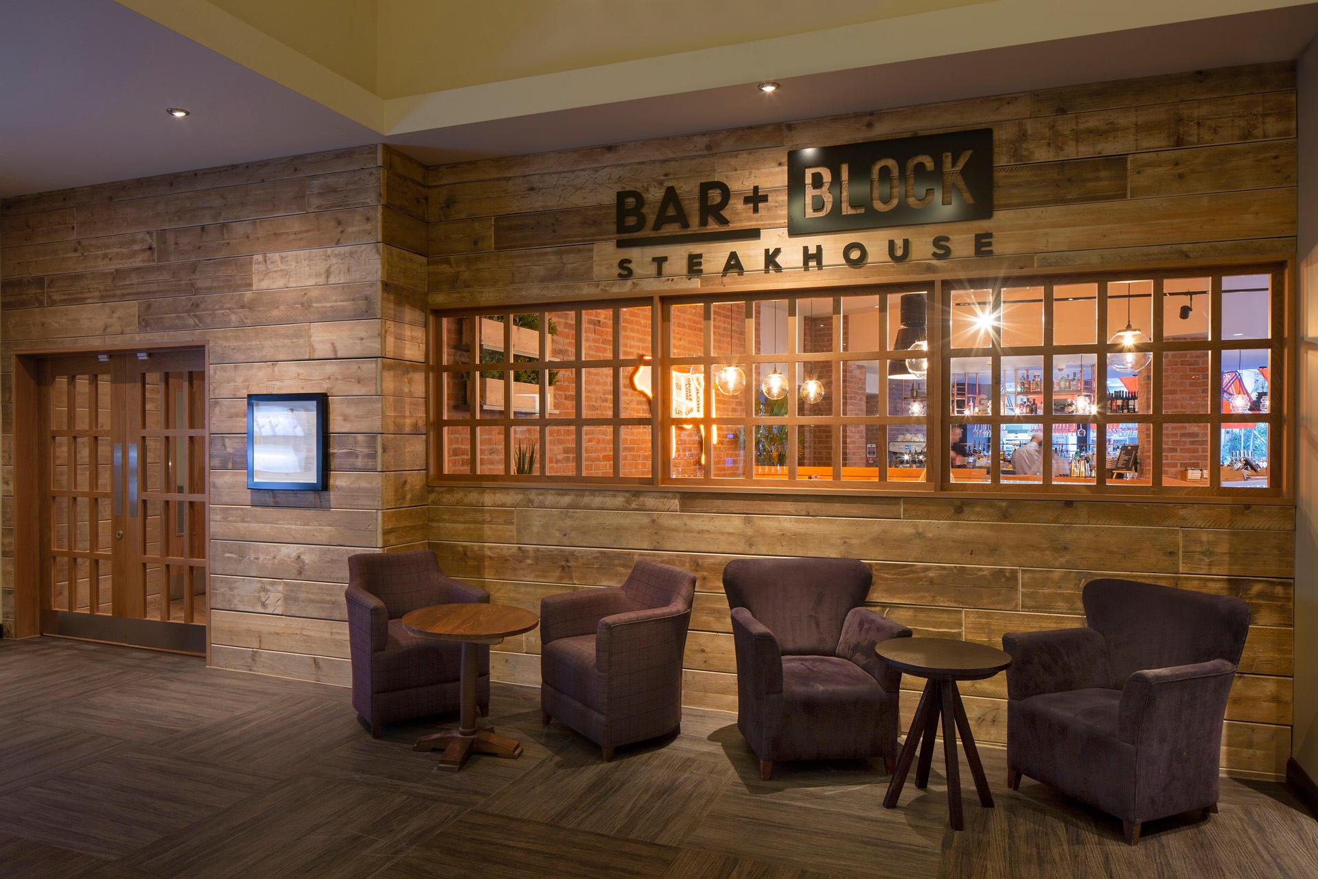 Bar + Block Steakhouse exterior Bar + Block Steakhouse Newcastle Newcastle 01918 141888