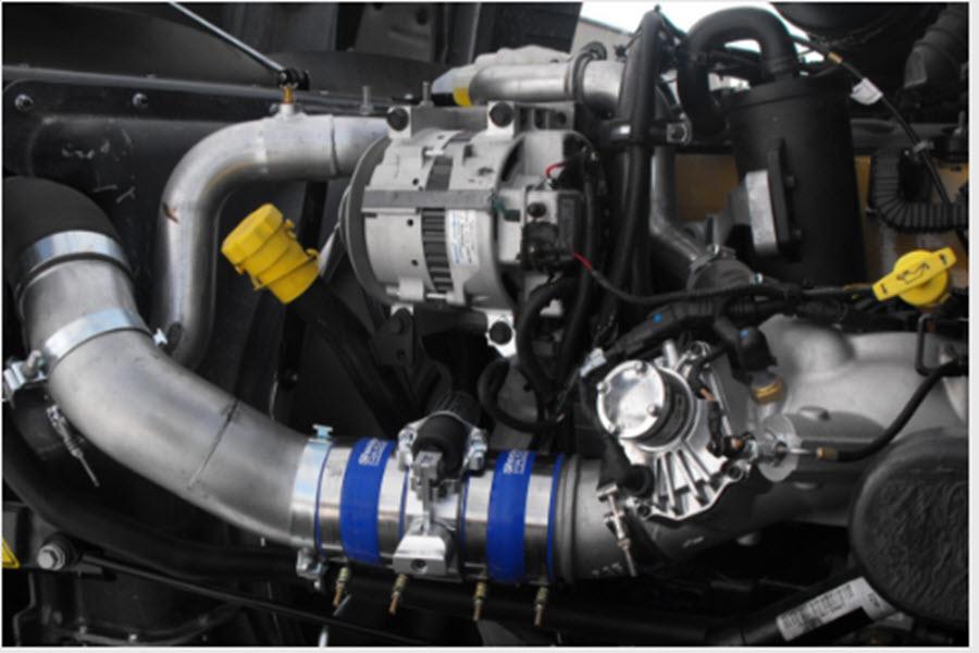 Tereck Diesel Ltd in Winnipeg: Shocker Positive  Air shutoff