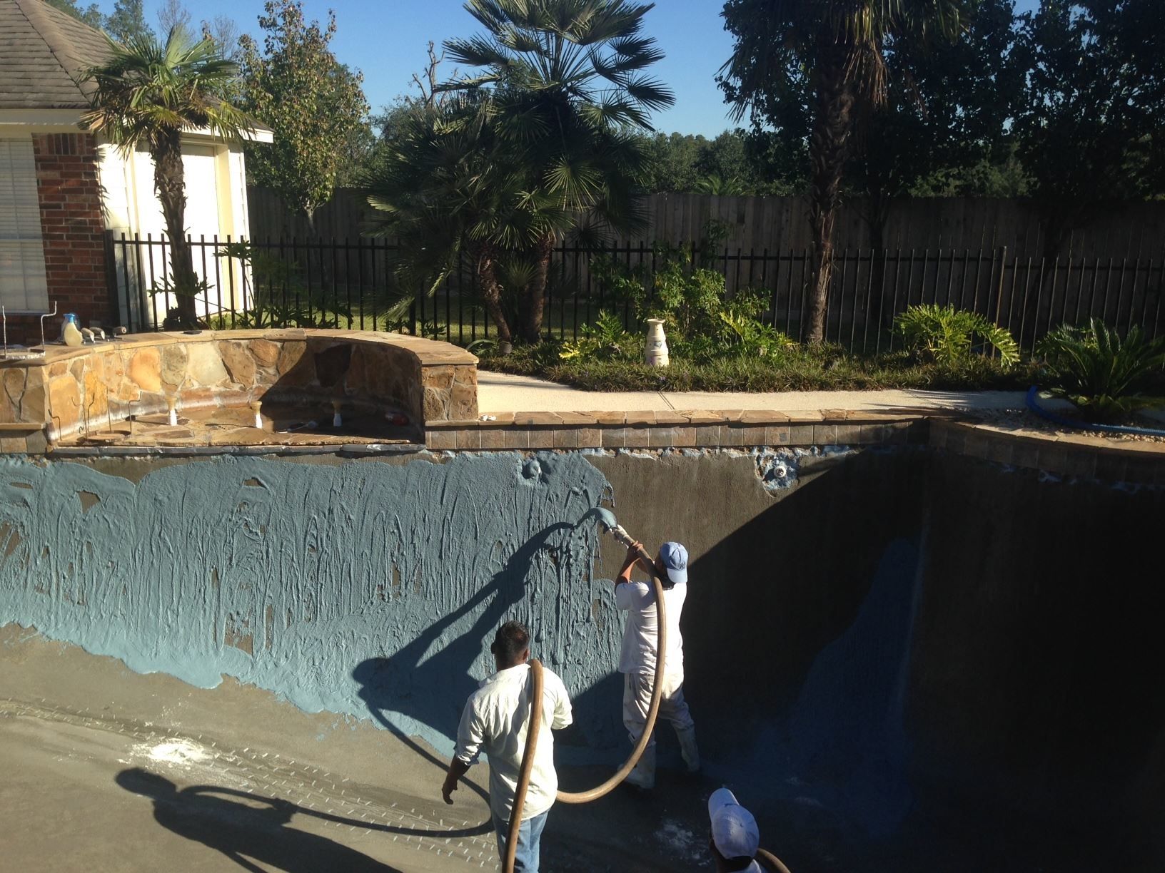 Patten Pool Repair In The Woodlands Tx 77380