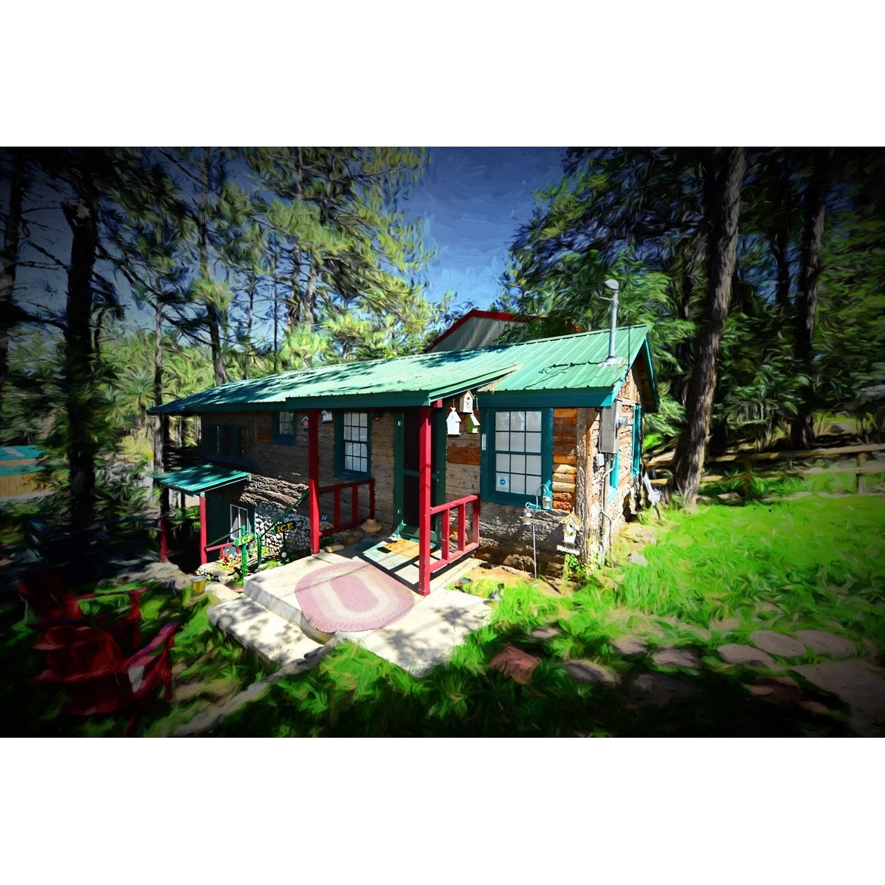 Ruidoso Cabin Retro On The River Coupons Near Me In