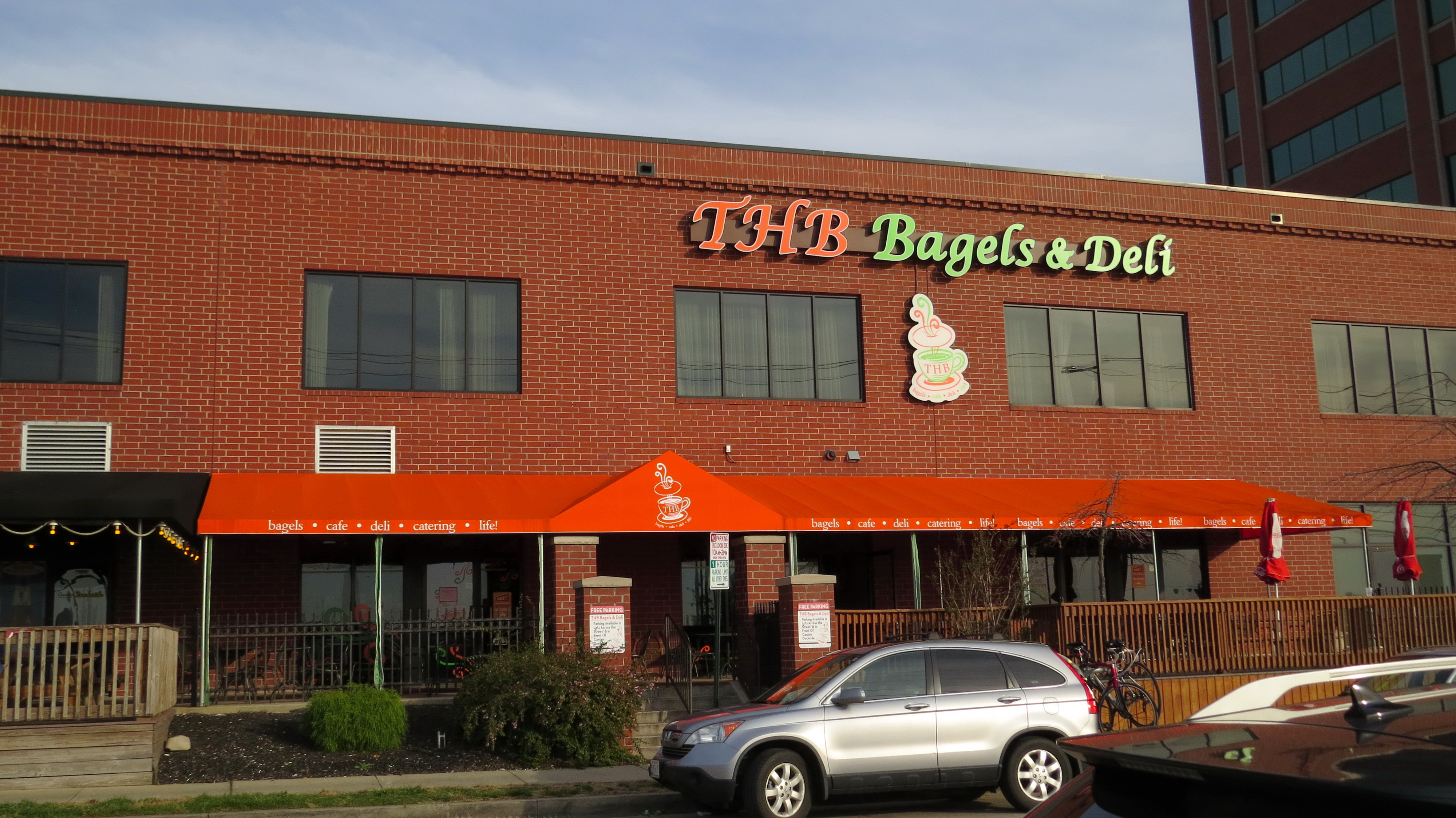 Awning in Baltimore Bagels and Deli Call A. Hoffman Awning in Baltimore     410-685-5687 http://ahoffmanawning.com/