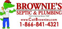 Plumber in FL Orlando 32824 Brownies Septic and Plumbing 11372 United Way  (407)841-4321