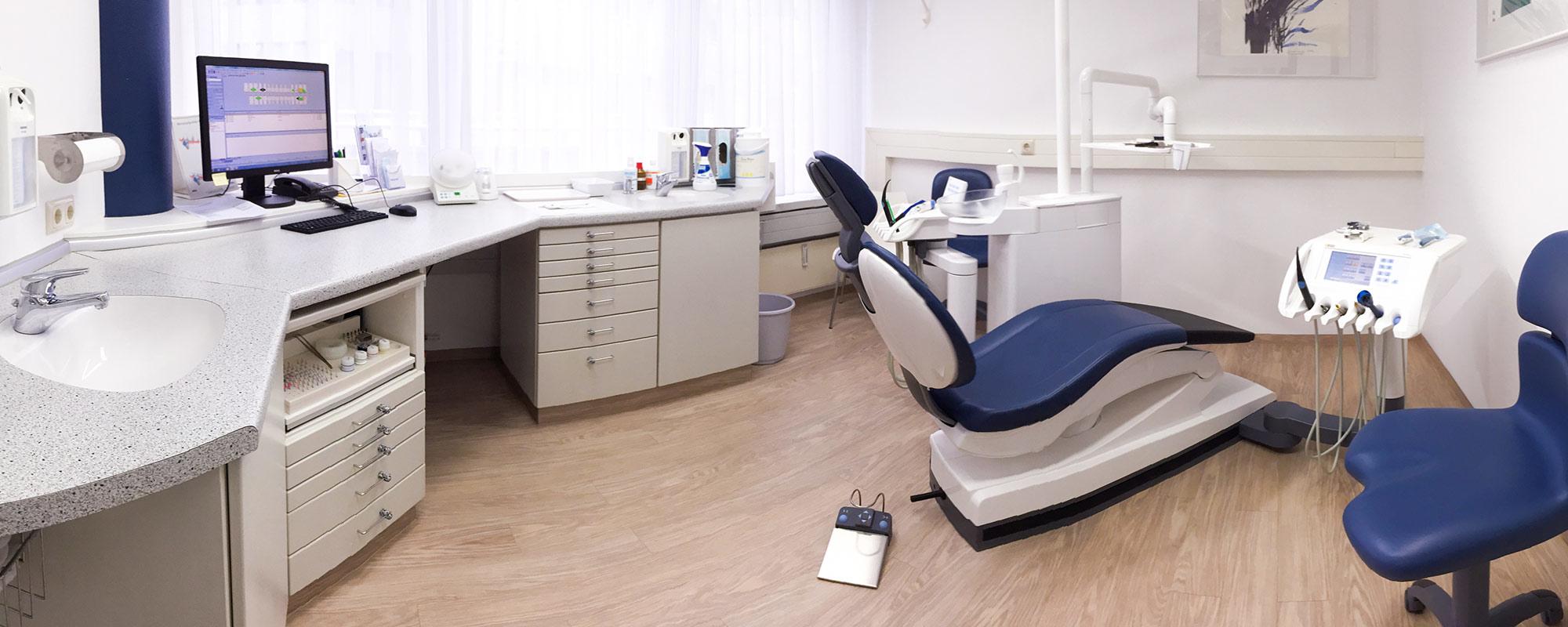 Die Zahnärzte im Wallenstein Center