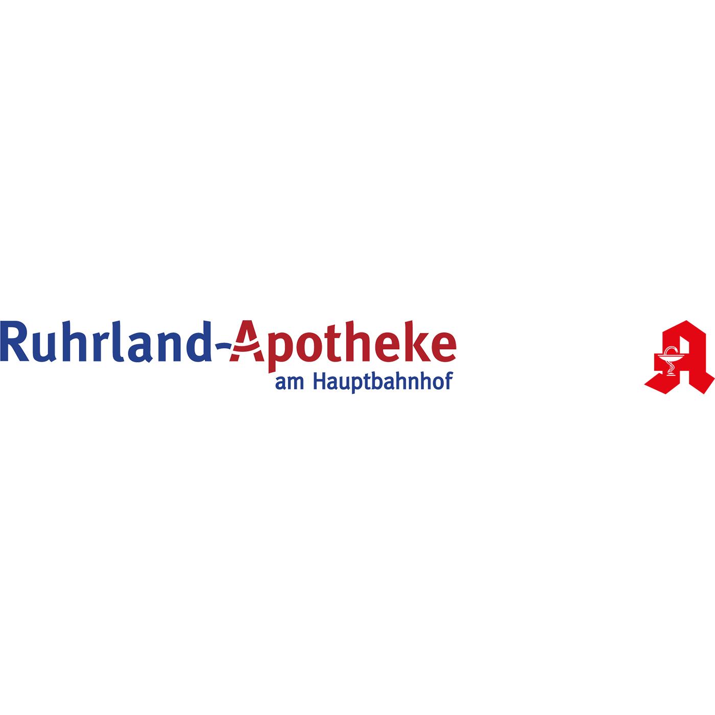 Logo der Ruhrland-Apotheke am Hbf.