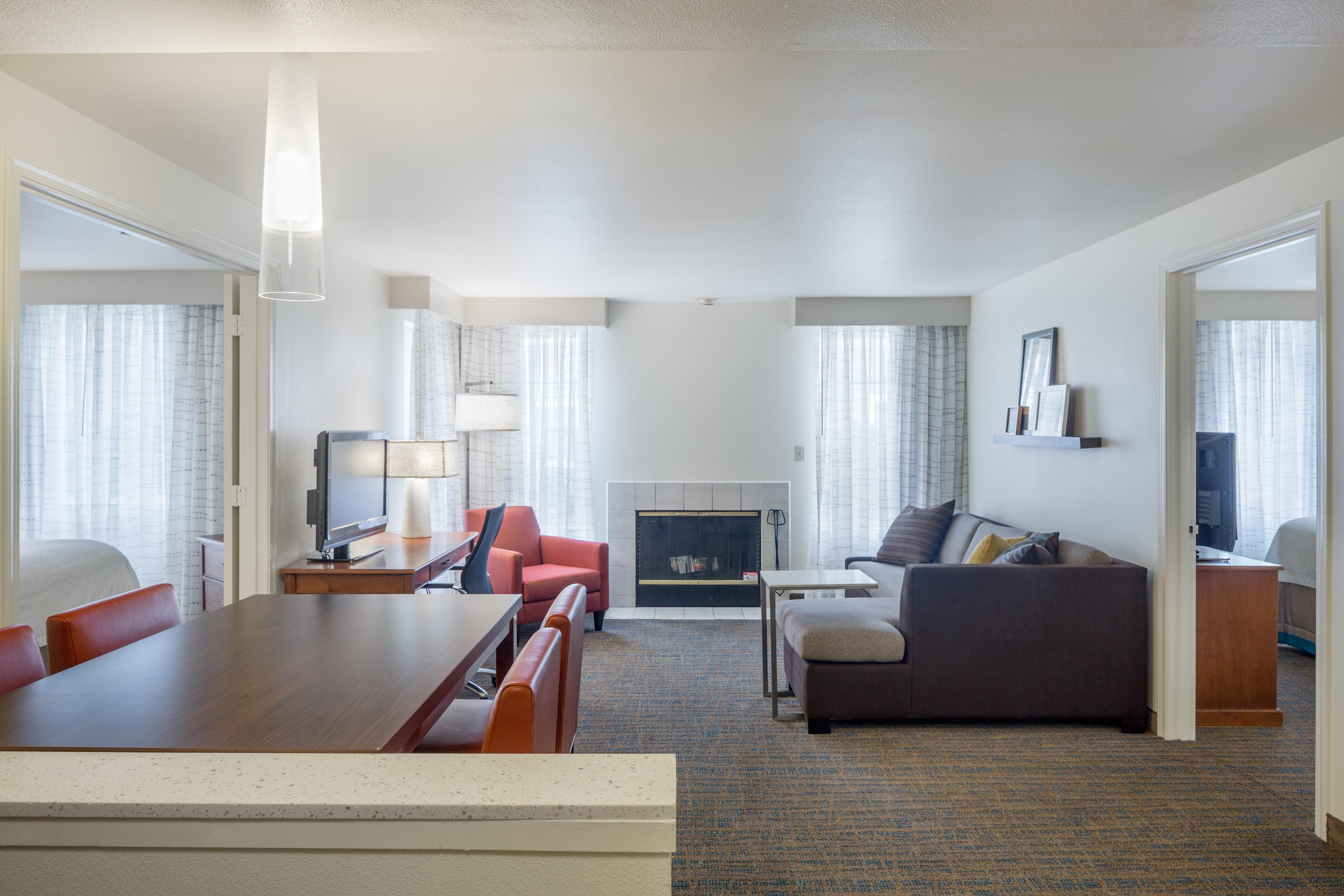 Residence inn by marriott portland hillsboro hillsboro - 2 bedroom suites portland oregon ...