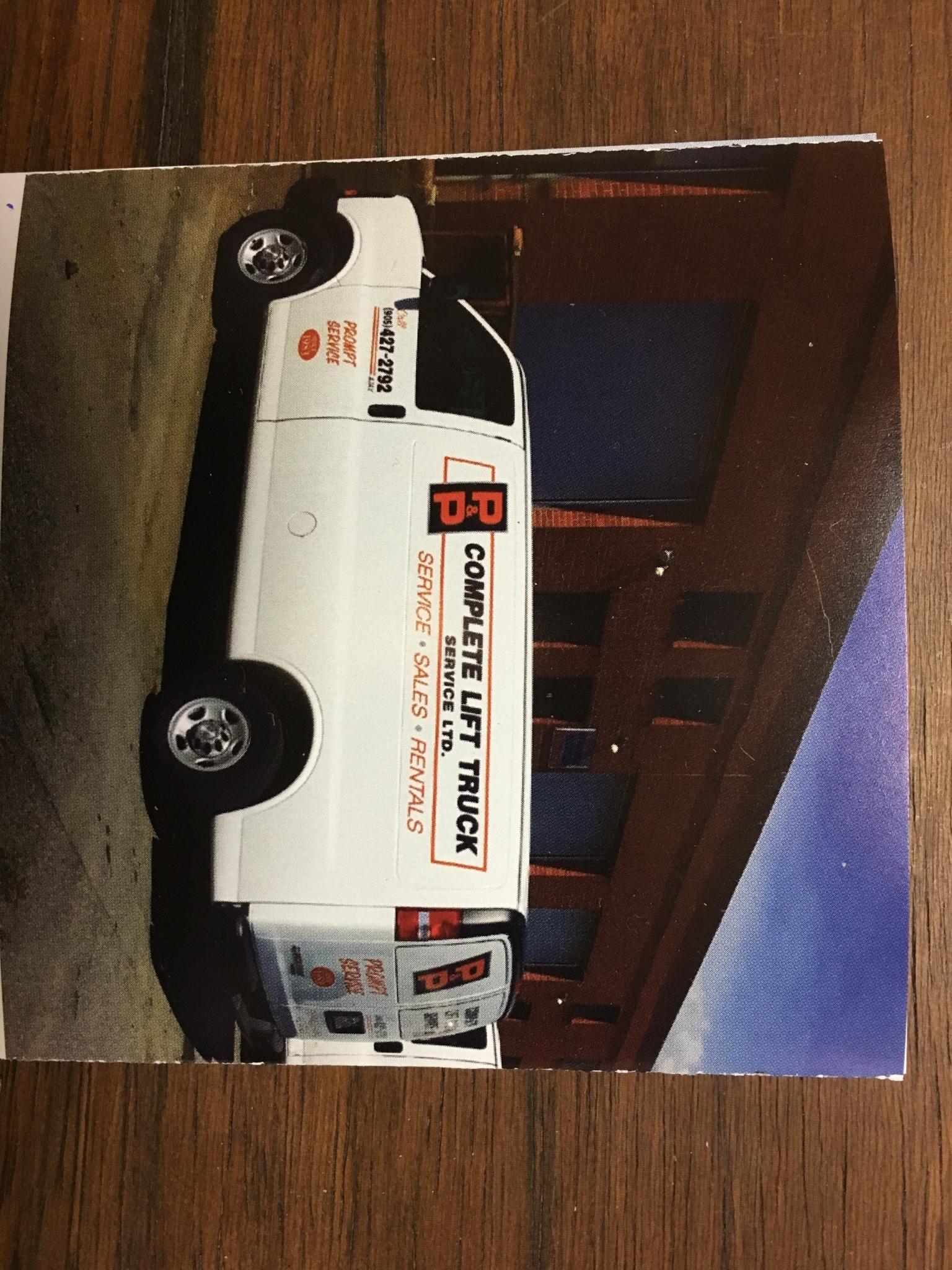 P & P Complete Lift Truck Service Ltd