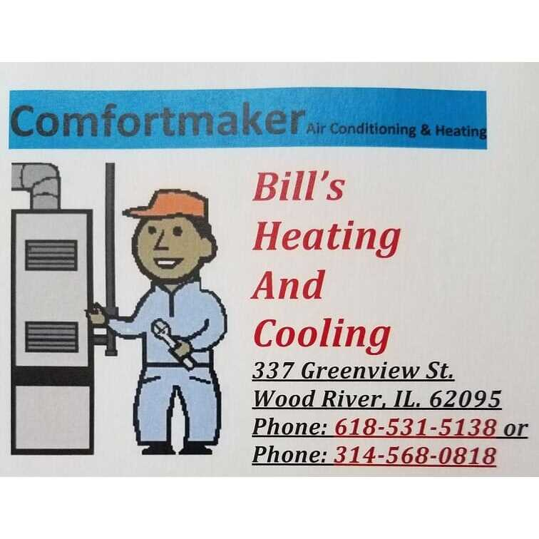 Bill's Heating & Cooling - Wood River, IL 62095 - (618)531-5138   ShowMeLocal.com