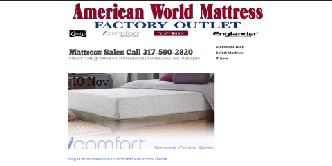American world mattress greenwood indiana in for Affordable furniture greenwood in