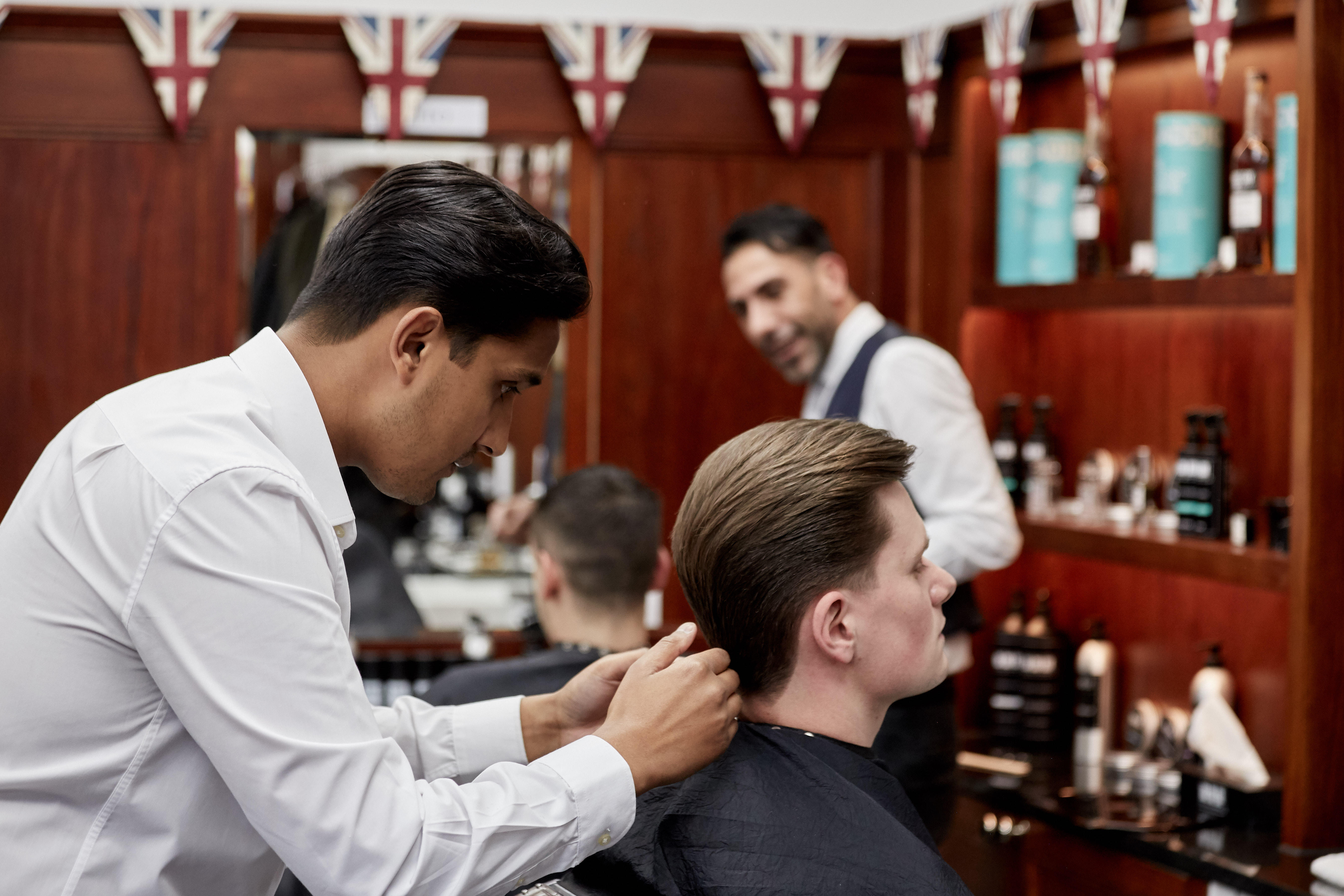 Images Pall Mall Barbers Birmingham