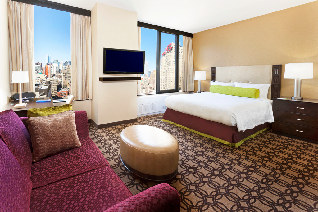 Fairfield inn suites by marriott new york midtown manhattan penn station coupons new york ny for Marriott near madison square garden