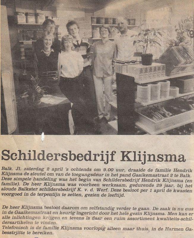 Schildersbedrijf Klijnsma