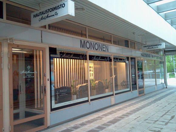 Hautaustoimisto Mononen Mikko Oy