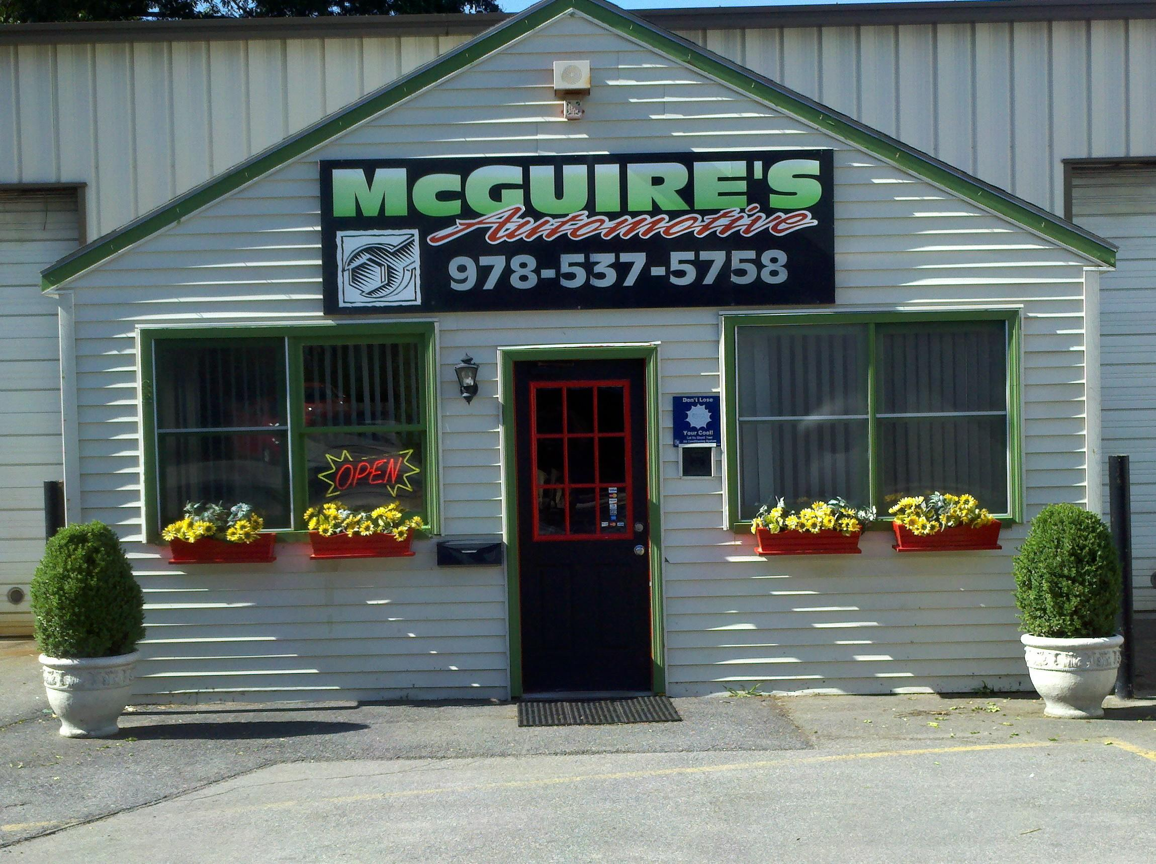 Mcguires automotive in leominster ma 01453 for North main motors leominster ma