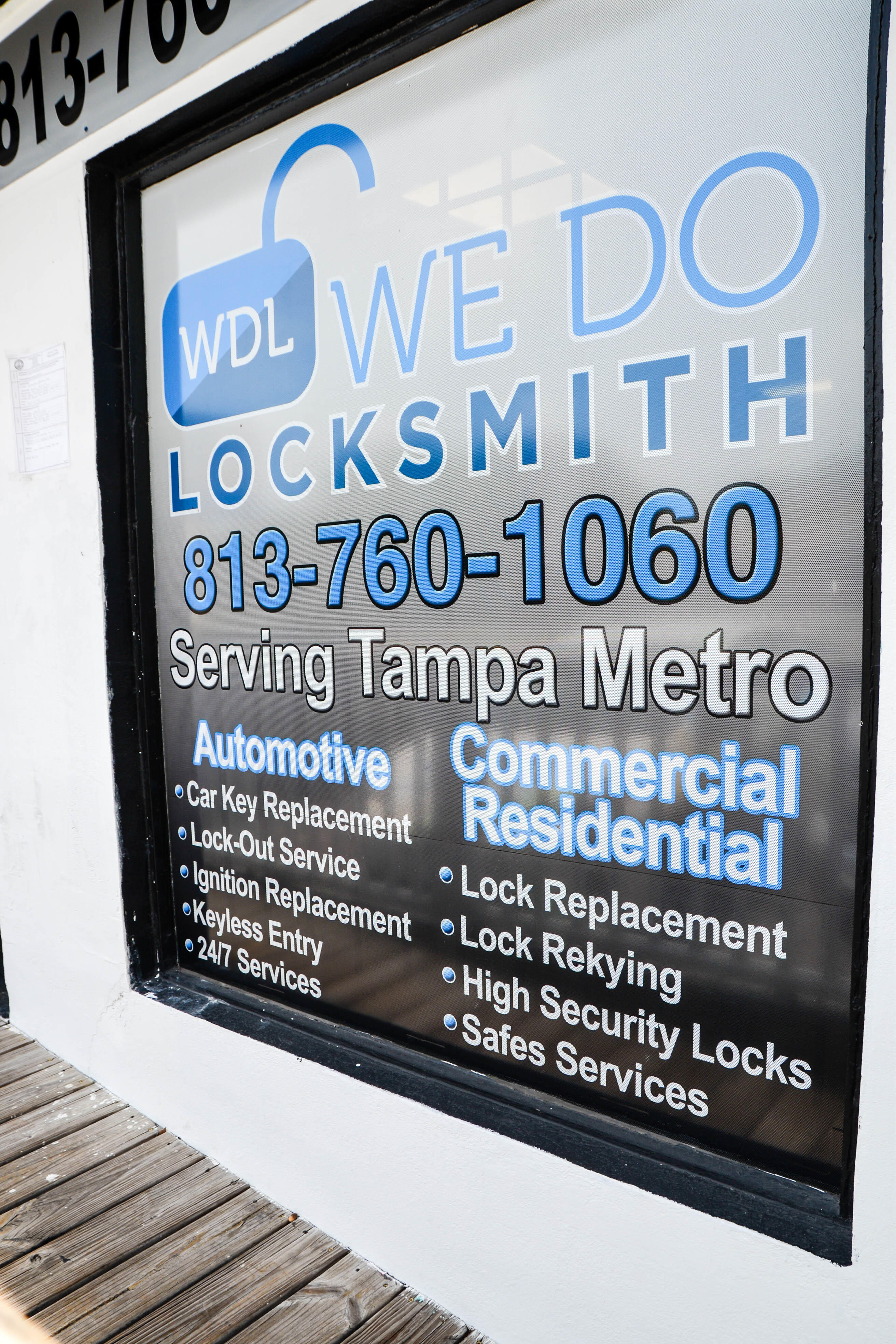 Commercial Locksmith Tampa We do locksmith 813-760-1060 https://wedo-locksmith.com/