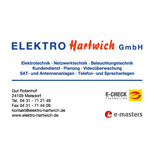 Bild zu Elektro Hartwich GmbH in Melsdorf