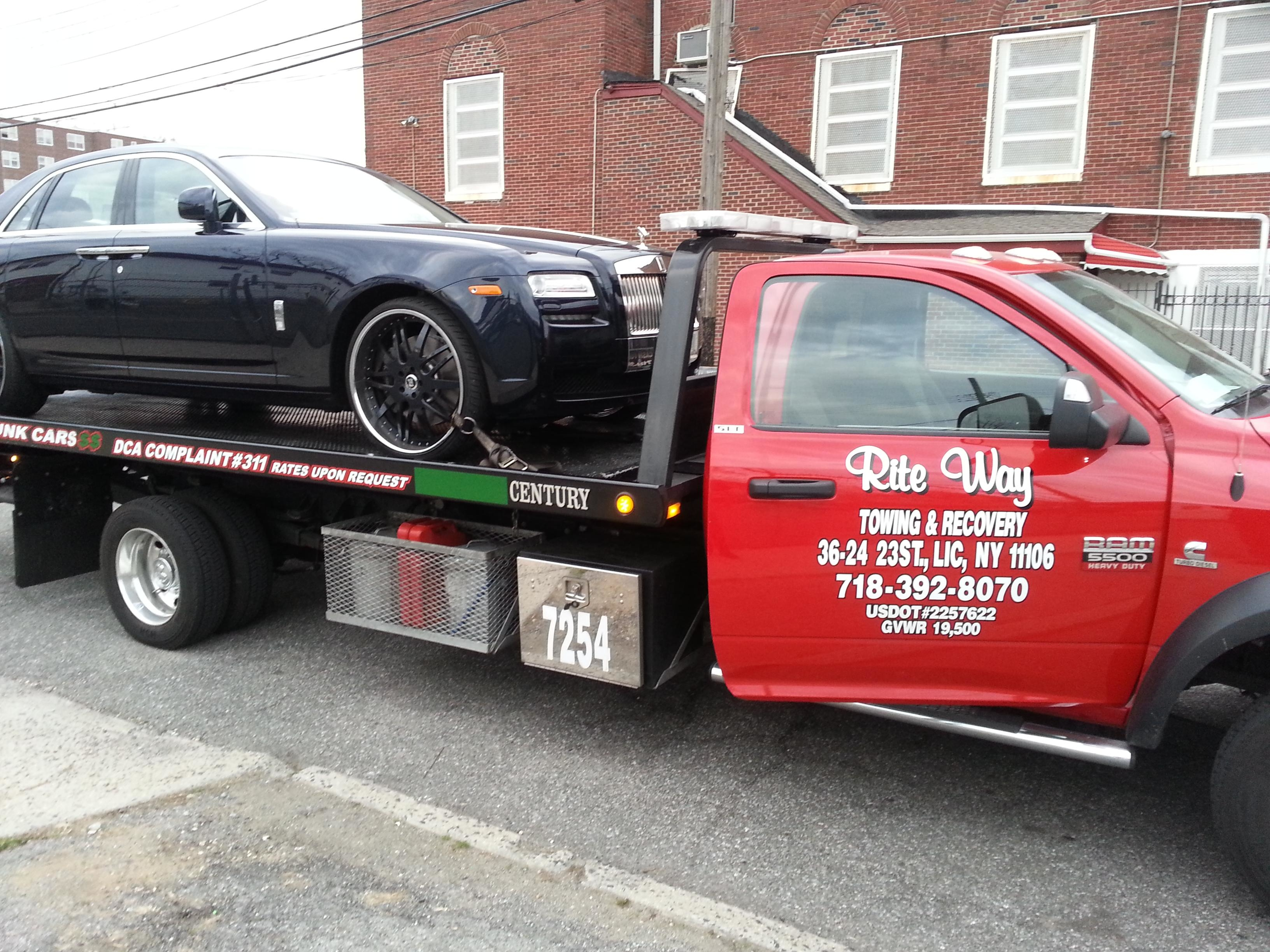 Rite Way Towing & Recovery Inc. of NYC