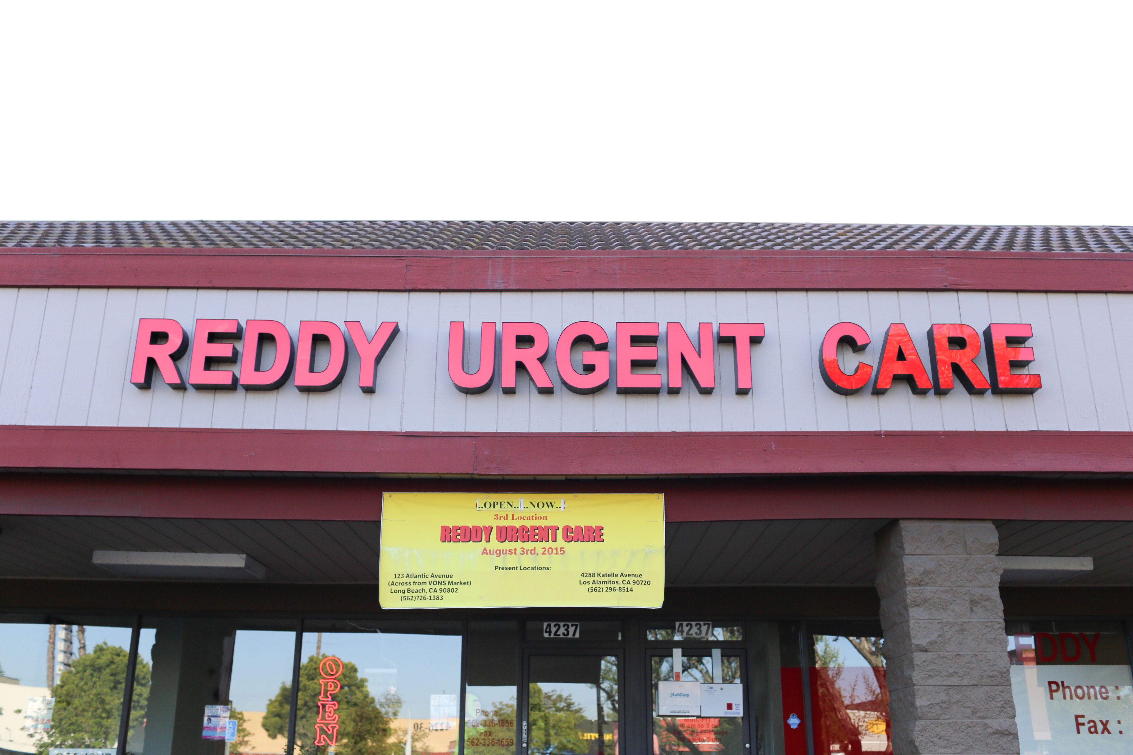 Reddy Urgent Care Long Beach Long Beach Ca
