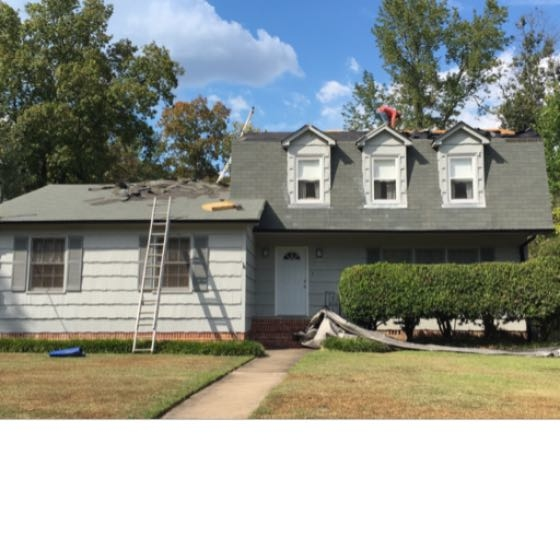 Mansard Roof replacement in Hoover, Alabama.