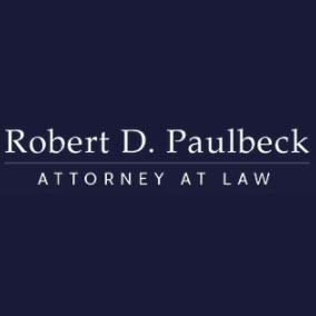 Robert D. Paulbeck, Attorney at Law - Firm Logo