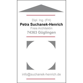 Bild zu Suchanek-Henrich P. Dipl.Ing. (FH) Freie Architektin in Güglingen