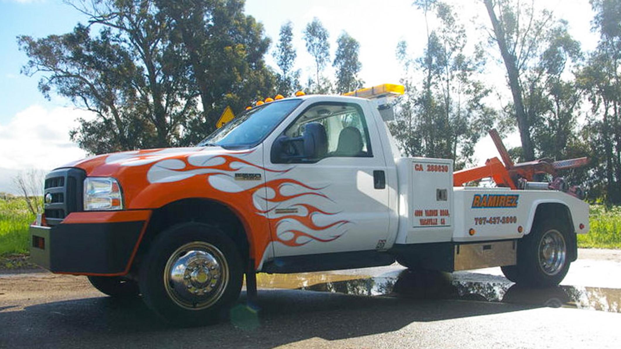 Jeff Ramirez Towing - Fairfield, CA 94533 - (707)437-2800 | ShowMeLocal.com