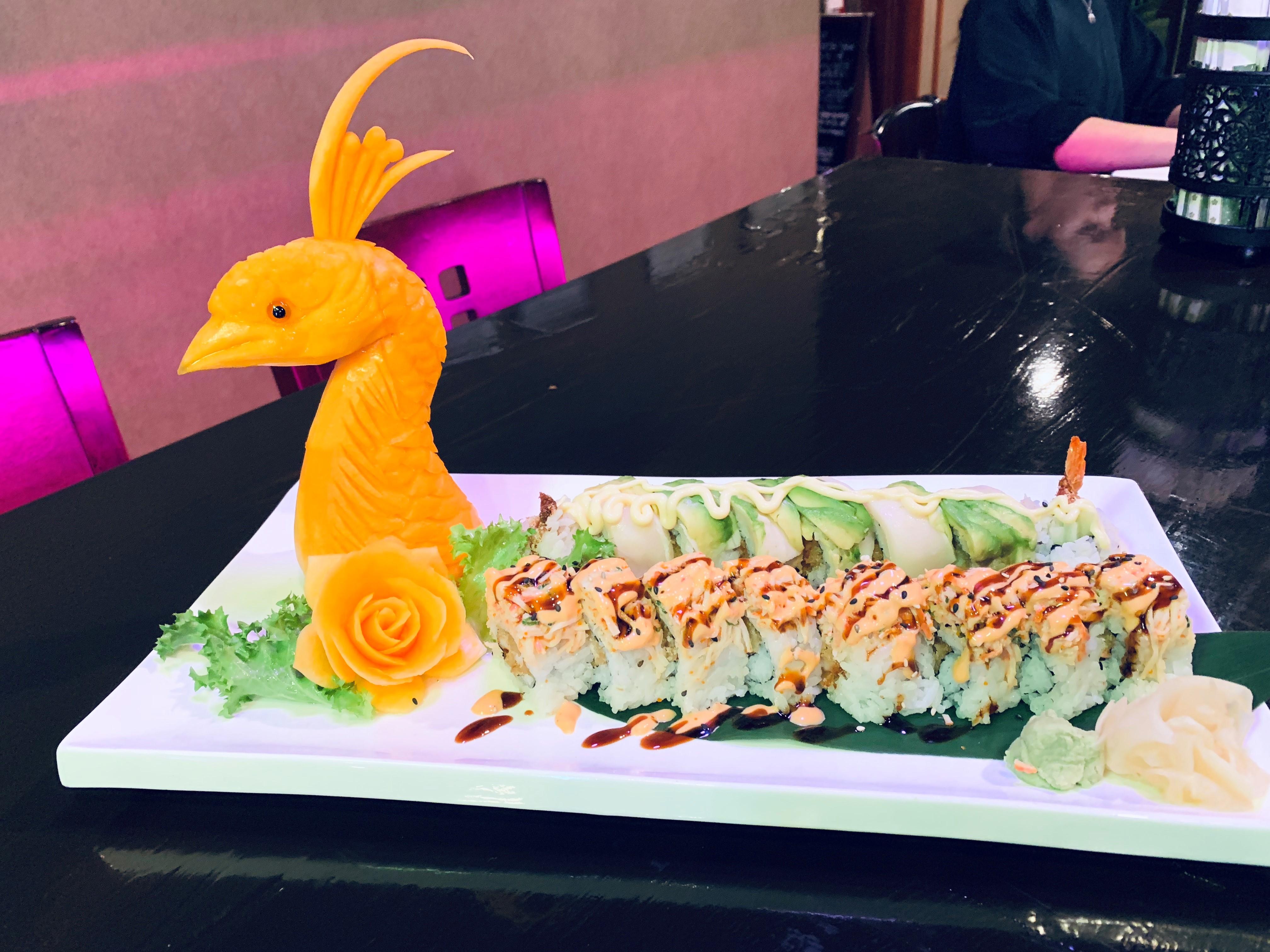 Sushi Tray Kanji Japanese Steakhouse & Sushi Bar Lancaster (740)687-1118
