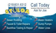 Logo and Business Card Design Stulga Plumbing