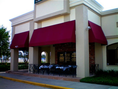 We make and install custom commercial awnings. Los Angeles Signs & Awnings Northridge (818)861-5394