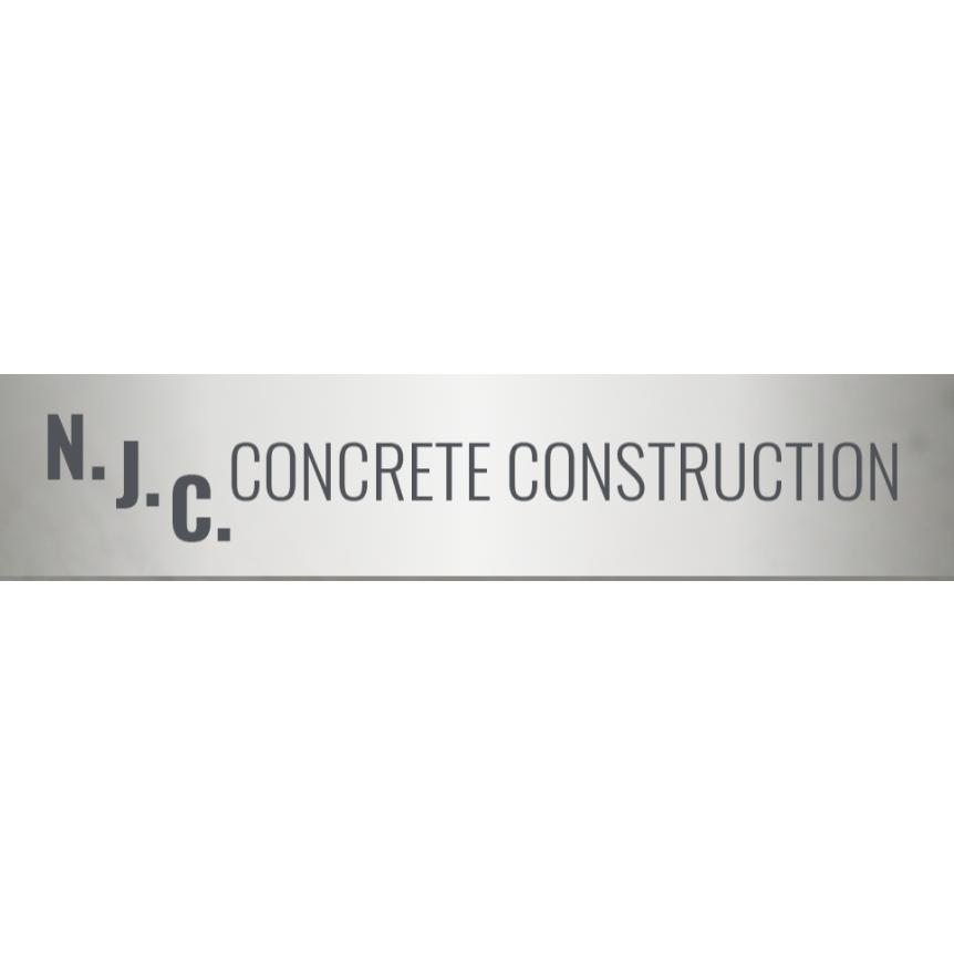 N.J.C. Concrete Construction Logo