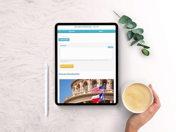 Texas real estate  exam prep courses online