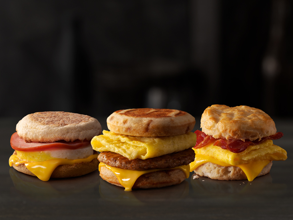 McDonald's All Day Breakfast Sandwiches McDonald's Carbondale (570)282-9835