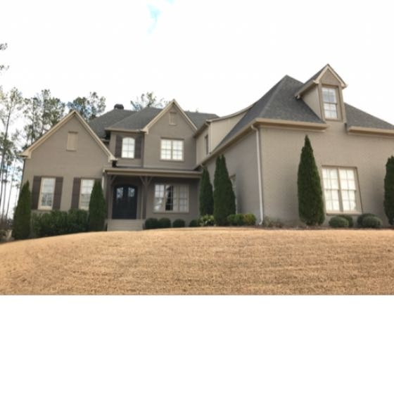 Architectural shingle roof in Hoover, Alabama.