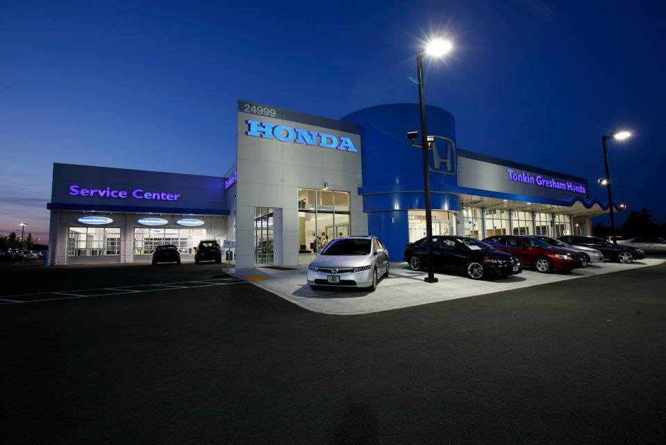 Tonkin gresham honda in gresham or 97060 for Honda dealerships portland