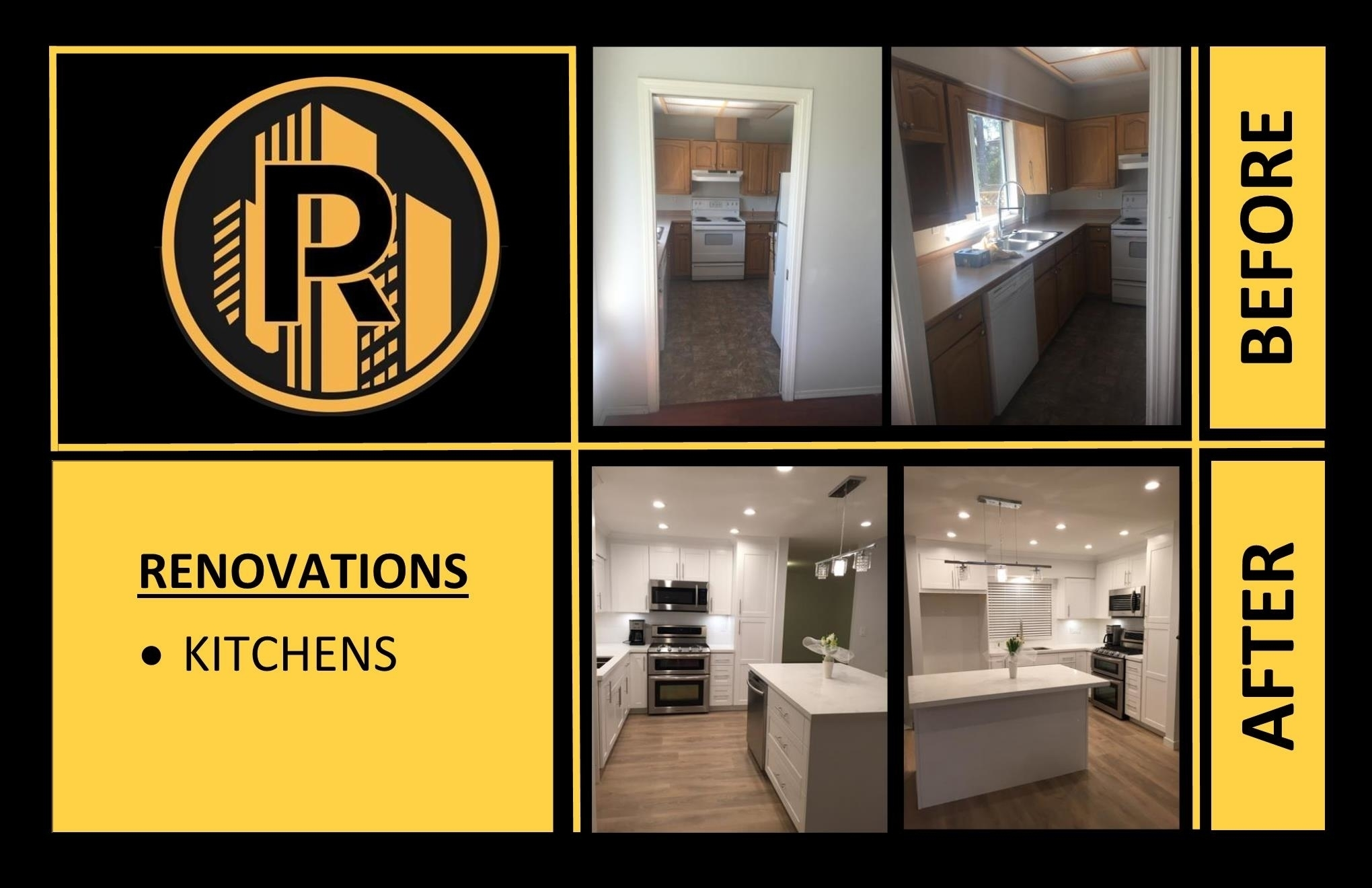 Raudales Enterprise LTD in Vancouver: General Carpentry Kitchens Renovations Modernization