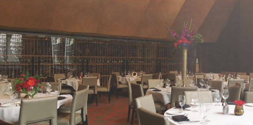 Del Frisco's Double Eagle Steakhouse Chicago Mezzanine private dining room