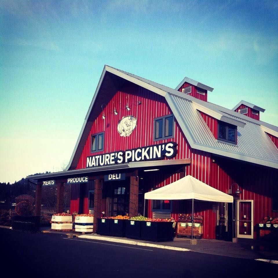 Nature's Pickin's in Abbotsford: Nature's Pickin's Market 1356 Sumas Way Open Year Round