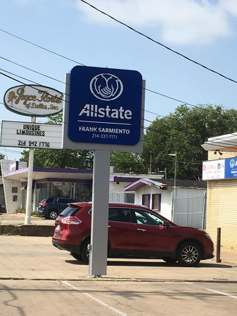 Images Frank Sarmiento: Allstate Insurance
