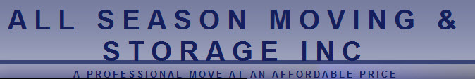 All Season Moving & Storage Inc
