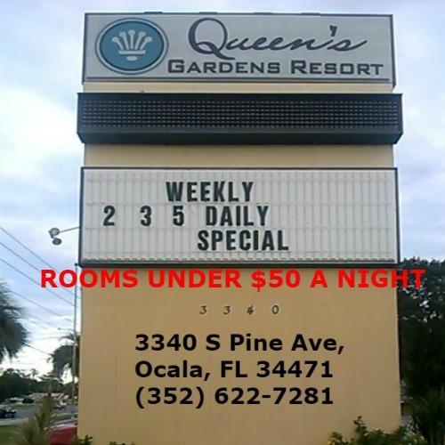 Queens Gardens Resort - Ocala, FL 34471 - (352)622-7281 | ShowMeLocal.com