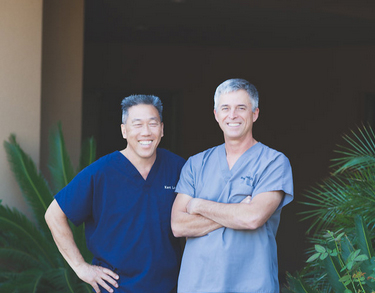 Dr. Bruce Lachot and Dr. Kent C. Loo, DDS