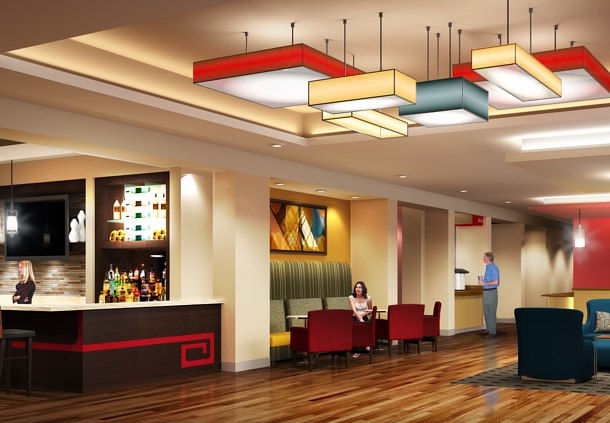 Towneplace Suites By Marriott Orlando At Flamingo Crossings Western Entrance Winter Garden