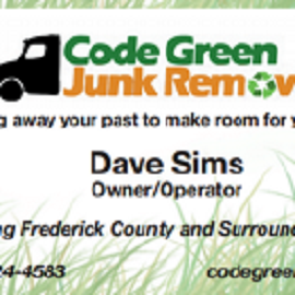 Code Green Junk Removal Landscaping Monrovia Md 21770 301 524 4583 Showmelocal