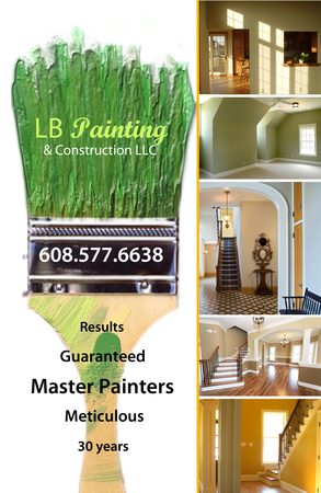 Post Card Created for LB Painting and Construction LLC