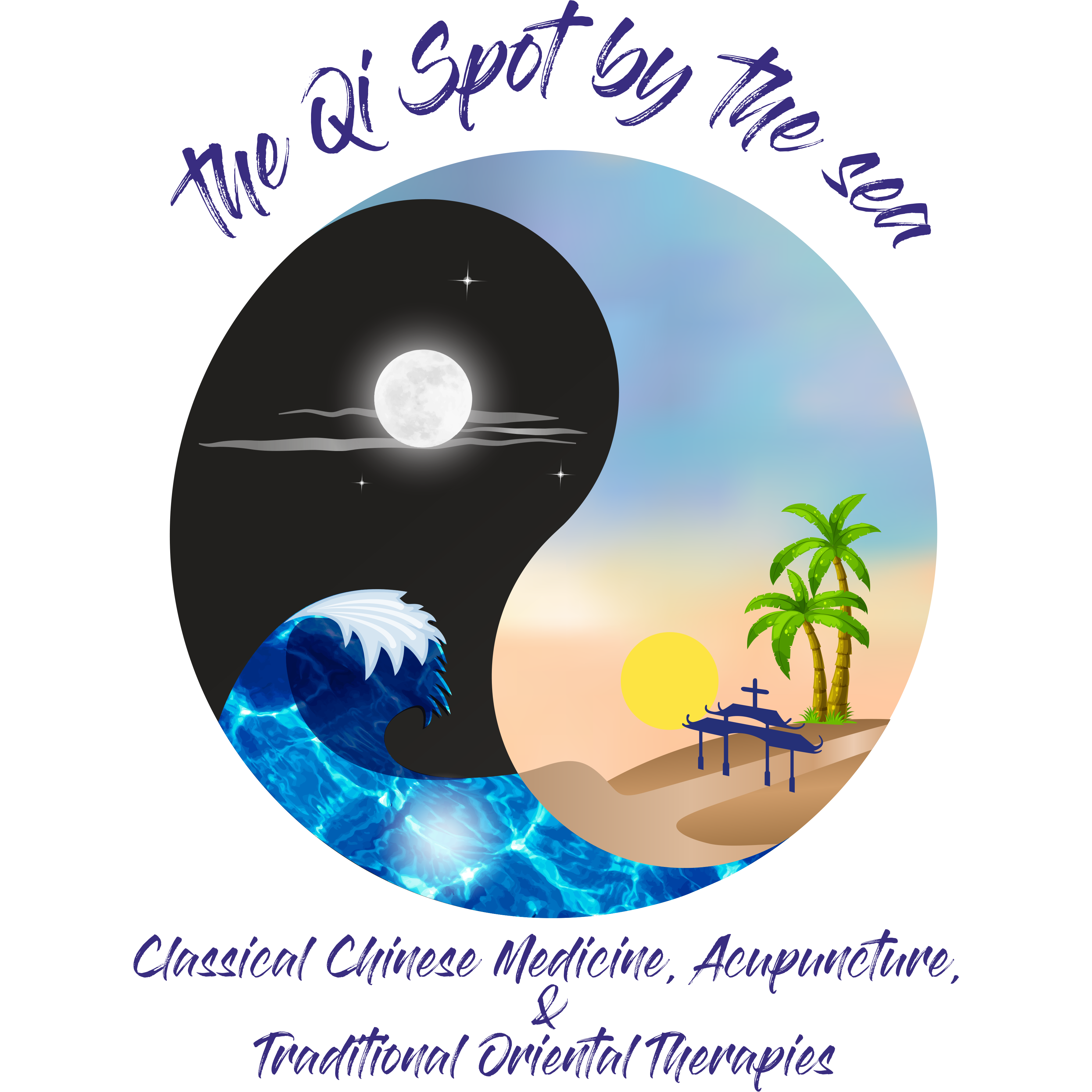 the Qi Spot by the sea