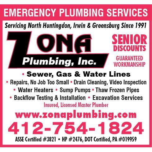Zona Plumbing Inc