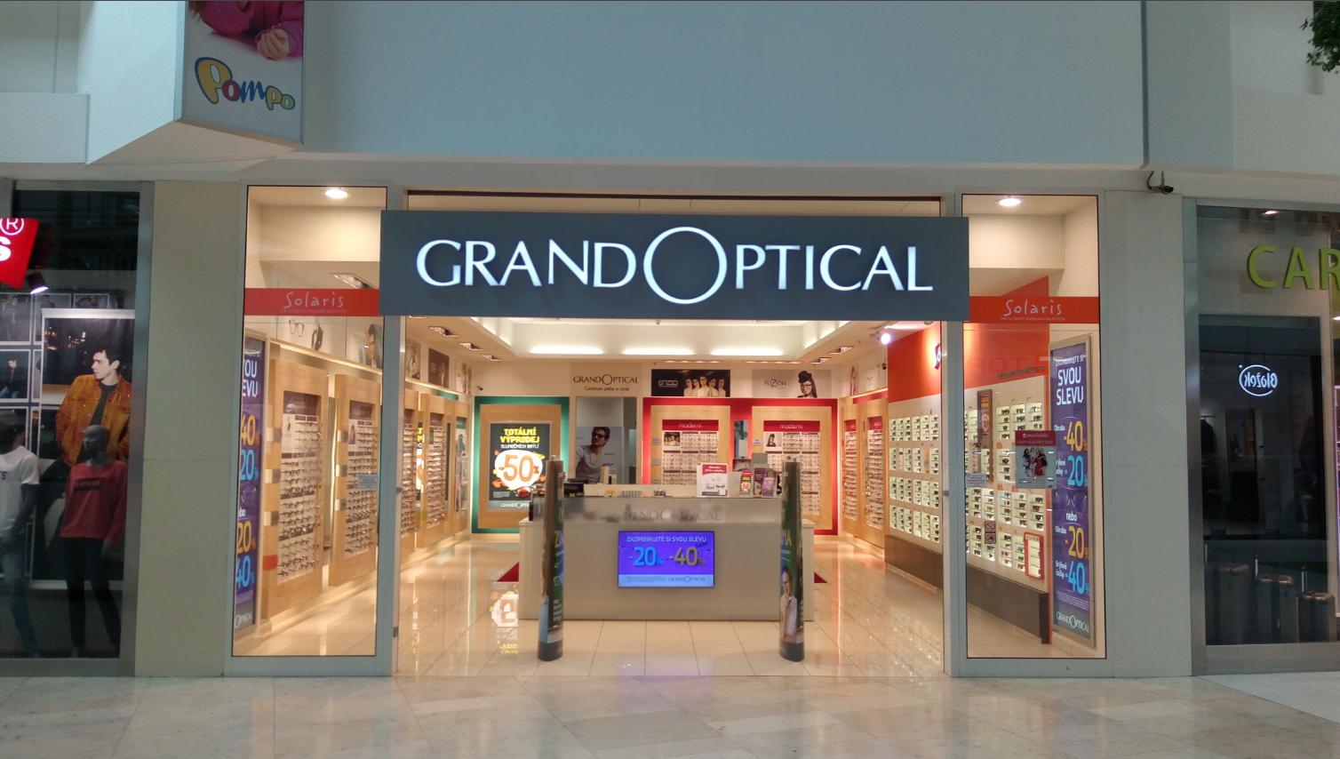 GrandOptical - oční optika Metropole Zličín