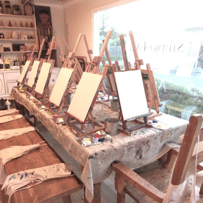 Studio 4 art coupons near me in novato 8coupons for Painting studios near me