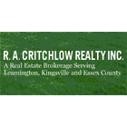 Critchlow R. A. Realty Inc - Leamington, ON N8H 1S8 - (519)326-6154 | ShowMeLocal.com